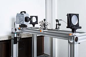 Schlierenaufbau mit Photron FASTCAM SA-Z