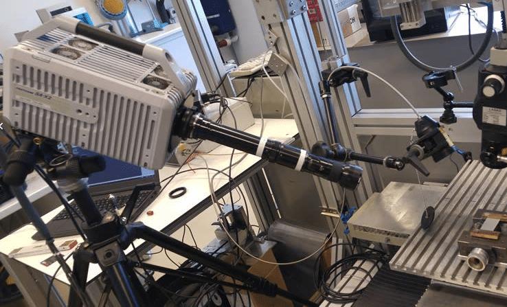 FASTCAM SA-X2 mit Mikroskop-Objektiv, Laserschweißen