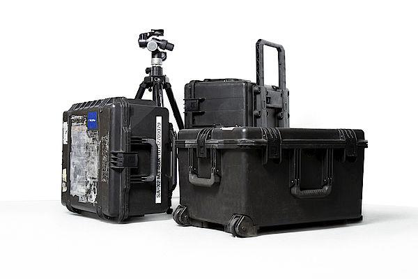 Transportkoffer für Kamera mit Zubehör