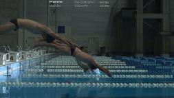 Schwimmer aufgenommen mit Fastcam SA-Z