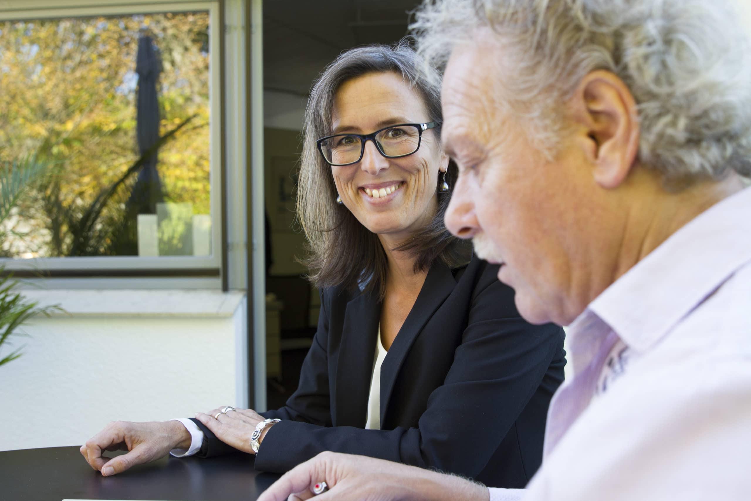 Geschäftsleitung Christine Kermer und Werner Walentschka