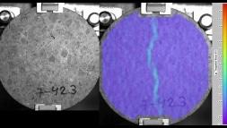 materialaufnahme mit photron highspeedkamera