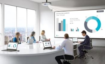 Medientechnik in einem Meeting-Room