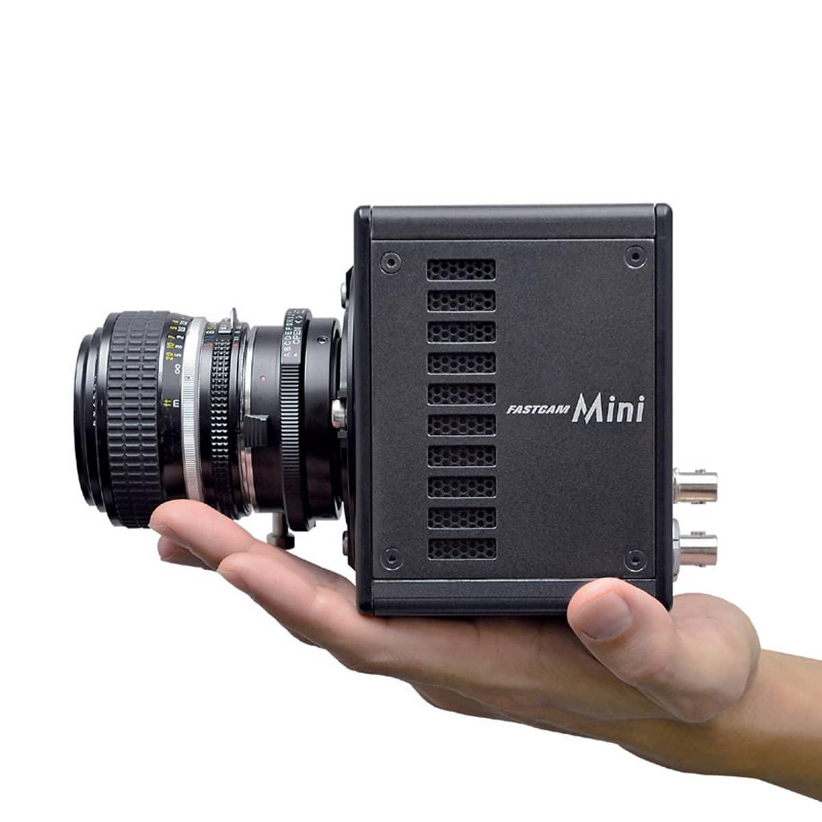 Photron FASTCAM Mini UX mit Hand