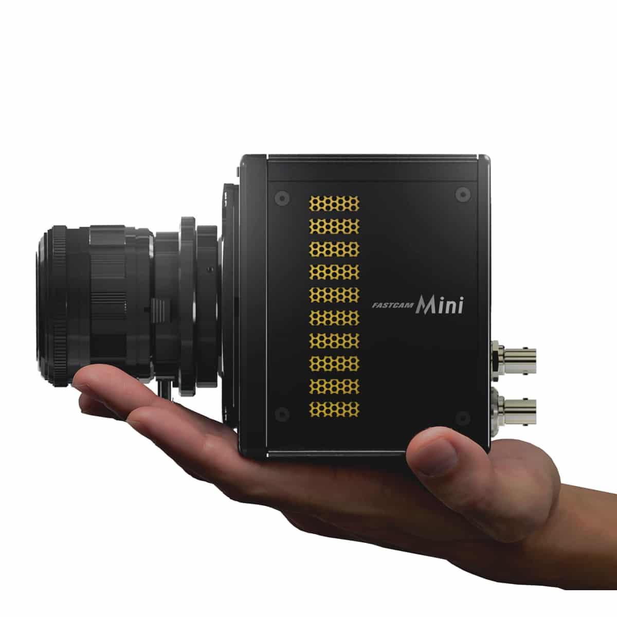Photron FASTCAM Mini WX mit Hand