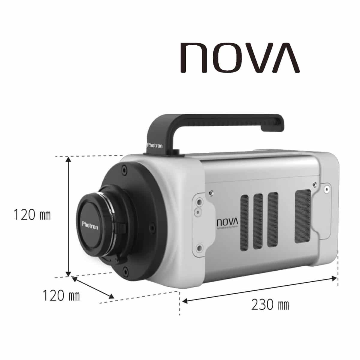 Produktbild Photron FASTCAM NOVA S-Serie, Abmessungen