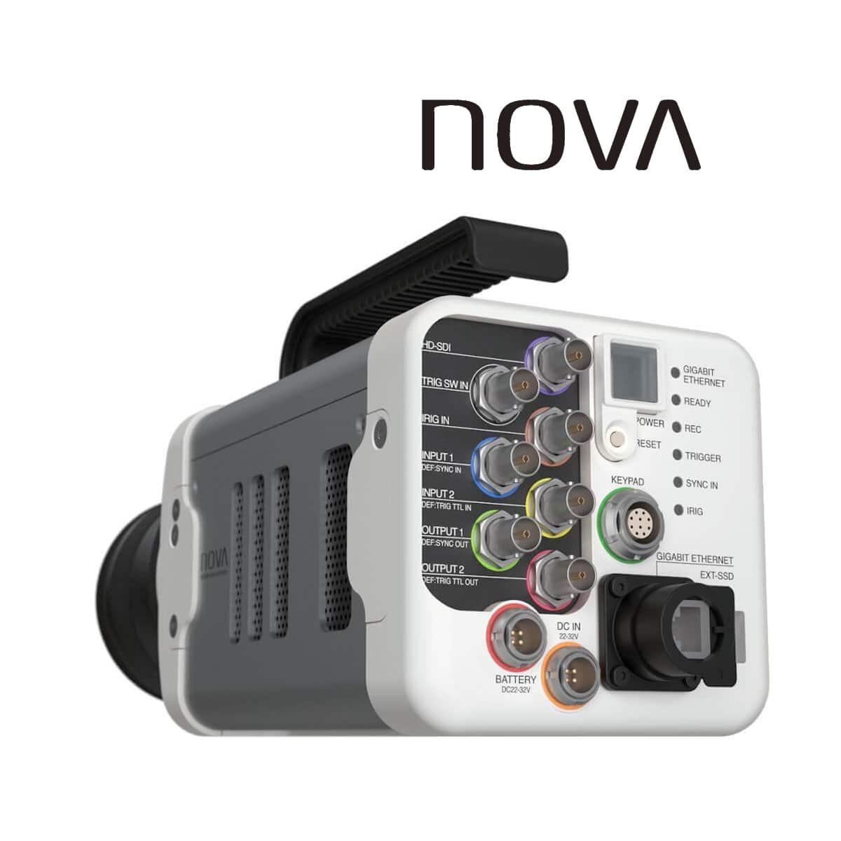 Photron FASTCAM NOVA S-Serie, Rückseite