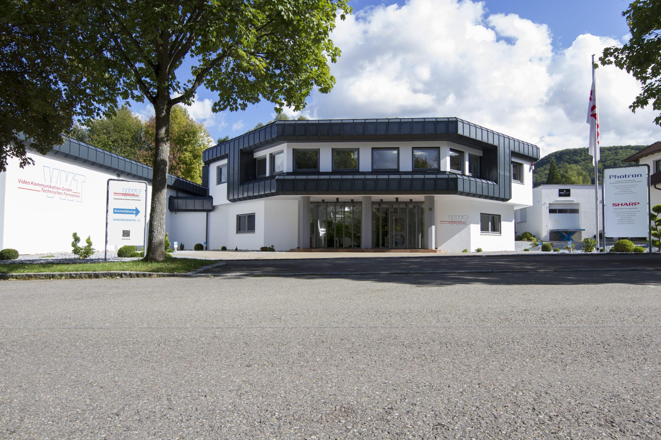 VKT Firmengebäude in Pfullingen